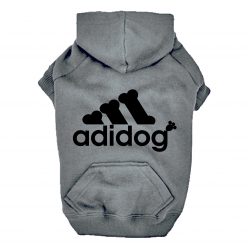 Sweat  Gris pour chien Adidog