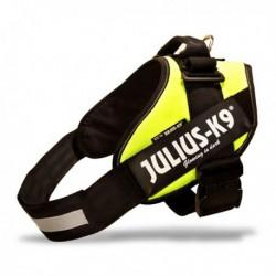 JULIUS K9 Harnais Vert Fluo (+ de14kg)