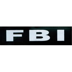 Julius Velcro FBI pour harnais JULIUS-K9