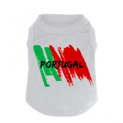 T-shirt Pour chien Portugal