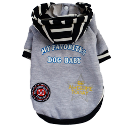 Sweat Dog Baby gris pour chiens