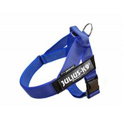 K9 JULIUS Harnais à sangles IDC-BELT Bleu foncé