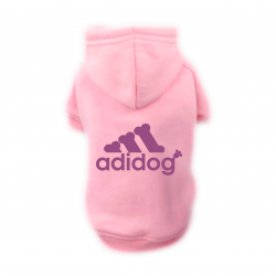 Sweat Relax rose pour chien Adidog
