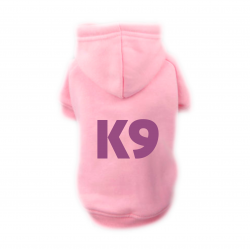 Sweat Relax rose pour chien K9