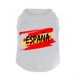 T-shirt Pour chien Espagne