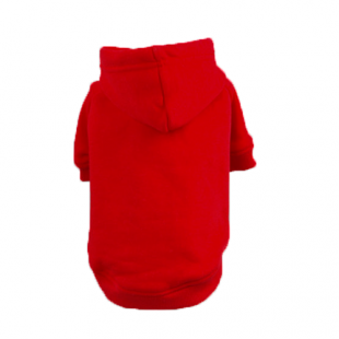 Sweat Relax Rouge pour chien