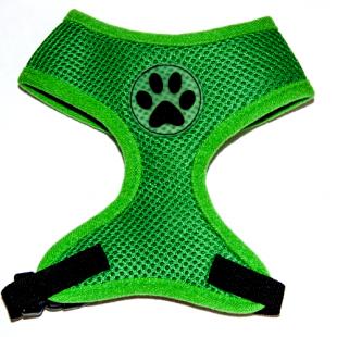 Harnais Dog Paw Vert pour chiens