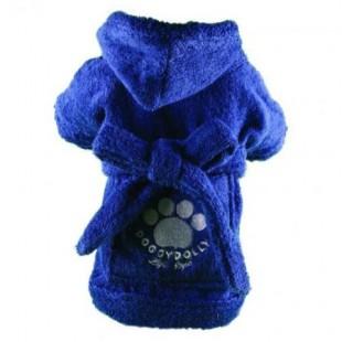 Peignoir Bleu pour chiens