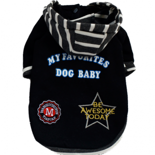 Sweat Dog Baby noir pour chiens