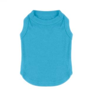 T-shirt Bleu débardeur pour chien